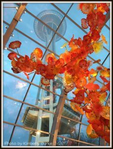 Chihuly Garden and Glass Exhibit, Seattle Space Needle