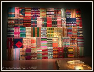 Chihuly Garden and Glass Exhibit, Native American Blankets