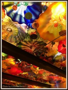 Chihuly Garden and Glass Exhibit, Persian Ceiling Room